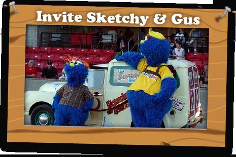 Invite Sketchy & Gus
